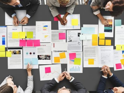 56258310 - business people diverse brainstorm meeting concept